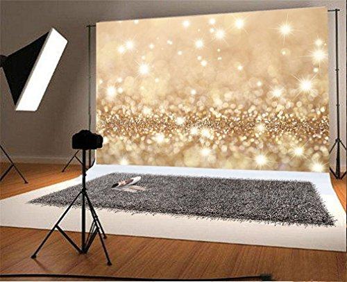 YongFoto 3x2m Vinyl Foto Hintergrund Bokeh Sparkle Pailletten Shining Lights Romantisch Valentinstag Fotografie Hintergrund für Fotoshooting Portraitfotos Party Kinder Hochzeit Fotostudio Requisiten
