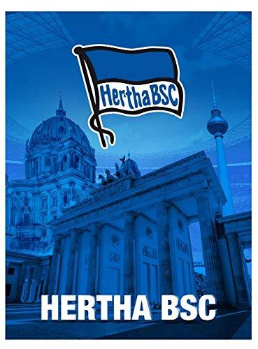 Hertha BSC Berlin Fleecedecke, Coralfleecedecke Berlin