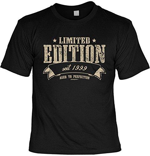 T-Shirt zum 20. Geburtstag Geschenk zum 20 Geburtstag 20 Jahre Geburtstagsgeschenk 20-jähriger Limited Edition 1999 Gr: M