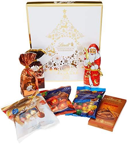 Lindt & Sprüngli Golden Xmas Präsentpaket Large, 1er Pack (1 x 905 g)