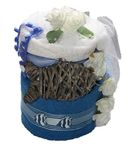 Handtuchtorte - Geburtstag - Geschenkkorb - Präsentkorb - Wellness Beauty