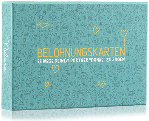 Belohnungskarten - Das Spiel für Paare, die Sich gegenseitig kleine Aufmerksamkeiten Machen wollen - Als Partner Geschenke für Mann und Frau