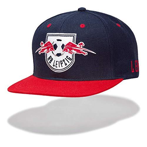 RB Leipzig Median Flat Cap, Blau Herren One Size Flat Cap, RasenBallsport Leipzig Sponsored by Red Bull Original Bekleidung & Merchandise