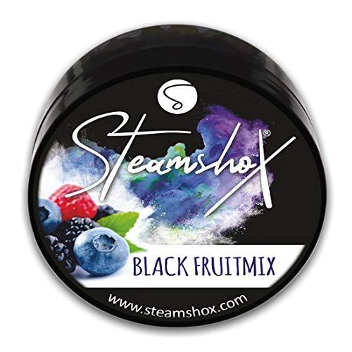 𝗦𝘁𝗲𝗮𝗺𝘀𝗵𝗼𝗫® Dampfsteine - Shisha Steam Stones - nikotinfreier Tabakersatz für Wasserpfeifen (Black Fruitmix)