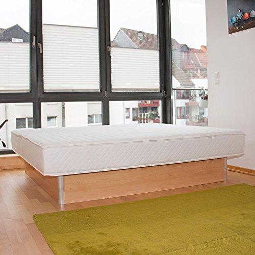 bellvita Wasserbetten inkl. Lieferung und AUFBAUSERVICE durch Fachpersonal, 180 cm x 200 cm (buche)