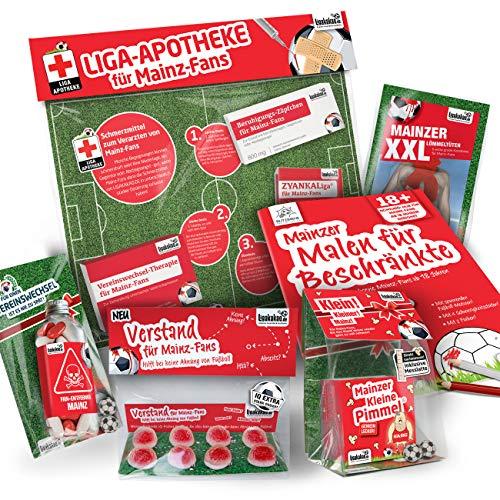 Mit diesen gemein witzigen Fanartikeln und Geschenk-Sets begeisterst Du nicht nur Geburtstagskinder, Mainz 05 Fans, Freunde und Kollegen, sondern überraschst auch alle Anwesenden mit dem besten Geschenk der Party.
