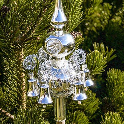 Christbaumspitze Old Lauscha Uni - Silber