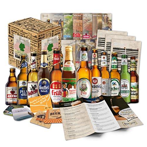 Die Boxiland Bier Box zaubert jedem ein Lächeln ins Gesicht. Sie können die Box, wie sie diese erhalten direkt weiterversenden oder weiter verschenken. Die Biere befinden sich schon bei Ankunft in einem sicheren Karton der dazu schön Bedruckt ist und sich ideal als Geschenkkarton eignet.