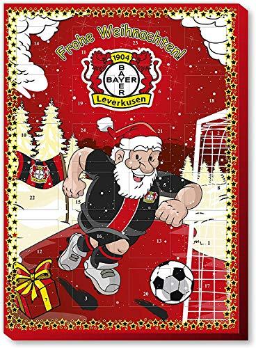 Fan-Shop Sweets Bayer 04 Leverkusen Adventskalender 2019 (one Size, Multi)