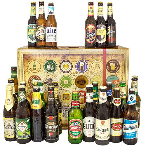 Bester Handwerker/Geschenkbox Bier Welt und DE/Geschenk Handwerker/Adventskalender Bier Männer