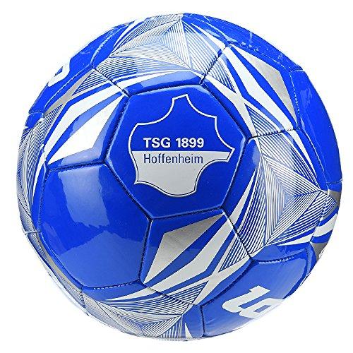 Lotto TSG 1899 Hoffenheim Fußball Trainingsball Gr. 5 - R7084 blau, Stück:Stück