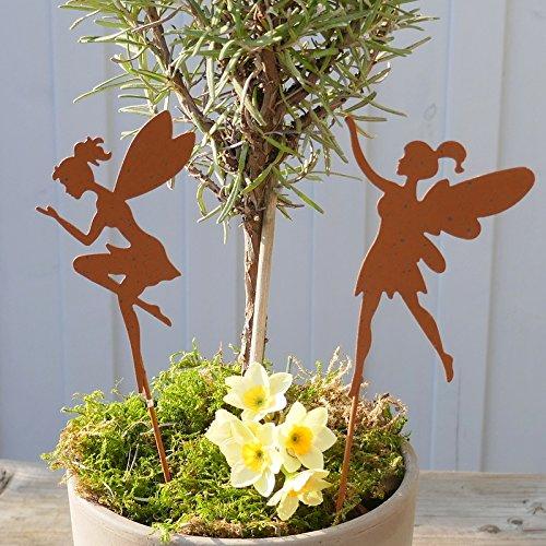 Gartenzaubereien Feen Beetstecker, 2 Modelle