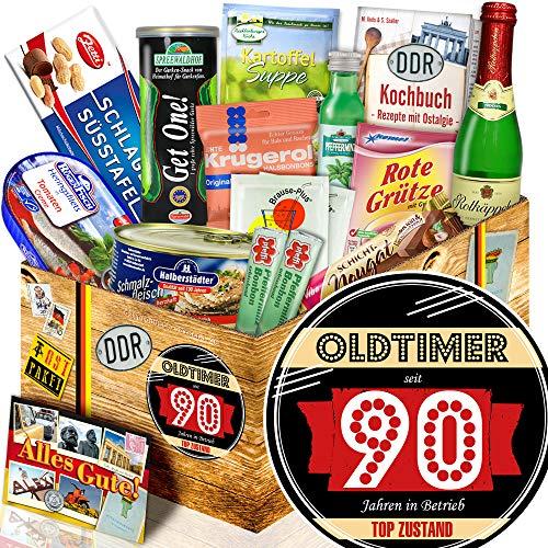 Oldtimer 90 / Zum 90. Geburtstag Geschenk / Spezialitäten Box DDR