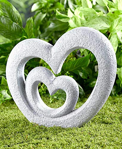 der Lakeside Kollektion Herz Garten Skulptur