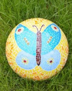 Mosaik-Gartenkugeln