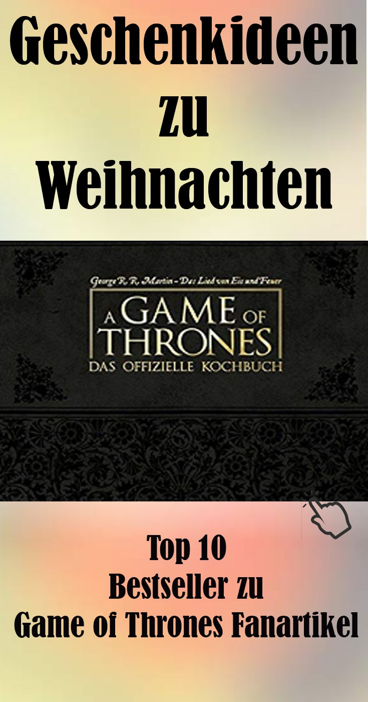 Game of Thrones Fanartikel zu Weihnachten.